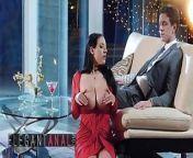 Elegant Anal - Angela White, Markus Dupree - Cherry Kiss from angela white dp markus dupree