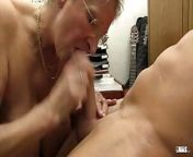 XXX OMAS - Dirty Germany granny takes dick at the office from hd indan hot xxx se