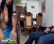 BANGBROS - Latina Maid Casandra Sucks Peter Green's Dick For Cash Money from လူနဲ့မြင်းလိုးကား