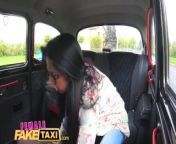 Female Fake Taxi Amateur actress licks and fingers busty blondes wet pussy from tamil actress arya