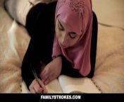 FamilyStrokes - Pakistani Wife Rides Cock In Hijab.mp4 from punjabi kudi jatti fudi
