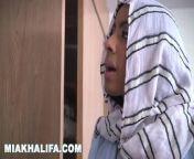 MIA KHALIFA - Busty Arab Pornstar Trains Her Muslim Friend How To Suck Cock from arab sex i car